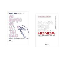 Combo 2 cuốn sách: Ai được gì và tại sao + Bí mật sáng chế của Honda