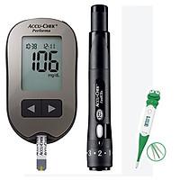 Máy Đo Đường Huyết Accu-chek Peforma mmol/L + Tặng nhiệt kế điện tử đầu mềm