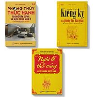 Combo 3 cuốn sách phong thủy-lễ nghi