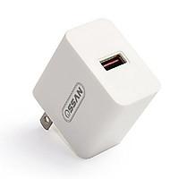 Adapter sạc 1 cổng Ossan sạc nhanh QC 3.0 OS-A3 - Hàng chính hãng