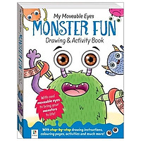 My Moveable Eyes Monster Fun Drawing And Activity Book