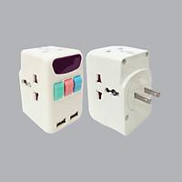 Ổ cắm chia 3 ngả đa năng MPE TA4 - Tích hợp 2 cổng USB sạc nhanh 2.4A