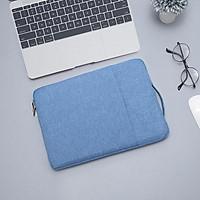 Chống Nước Laptop Túi 12 13 14 15 16 Inch Cho MacBook Air Pro 2018 2019 Mac Book Máy Tính Chất Liệu Vải tay Bao Phụ Kiện