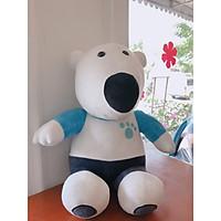 Gấu bông bắc cực trắng dễ thương