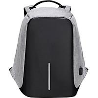 Balo Laptop Chống Trộm HighQuality HQ002 - Xám (45 x 15 x 35 cm)