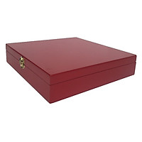 Hộp quà  đựng trang sức cưới màu đỏ cao cấp [QUÀ TẶNG COMBO 2 MIẾNG KHẮC LASER]- Hộp  trang sức ngày cưới,nhận cưới, dậy chuyền,bông tai tiện dụng