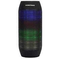 Loa bluetooth đèn LED phát sáng nhiểu mảu sắc POWERMAX CS-01-Hàng chính hãng
