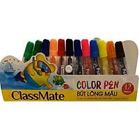 Vỉ Bút Lông Màu Classmate WC111 - 12 Màu