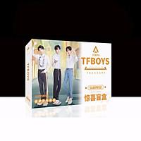( Surprise ) Hộp quà TFBOYS A5 có poster postcard bookmark in hình thần tượng nhóm nhạc
