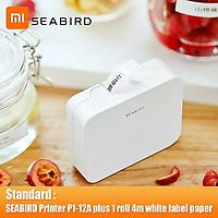 Xiaomi Youpin SEABIRD Mini Label Printer Portable BT Wireless Thermal Receipt Label Sticker Instant Mobile Printer