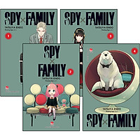Combo 4 Cuốn: Spy X Family (Tập 1 Đến Tập 4)