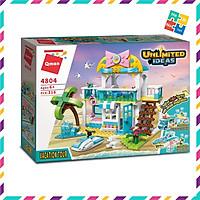 Bộ Đồ Chơi Xếp Hình Thông Minh Lego Cho Bé Gái Qman 316 Mảnh Ghép 3 Mẫu Biến Đổi Kỳ Nghỉ Biến Hình 4804