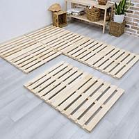 Giường ngủ Pallet gỗ thông , giường pallet