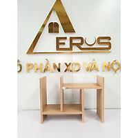 Kệ sách gỗ công nghiệp để bàn mini thiết kế tiện lợi (KS-93) thương hiệu AEROS
