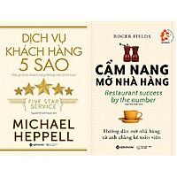 Combo Sách Cẩm Nang Mở Nhà Hàng + Dịch Vụ Khách Hàng 5 Sao