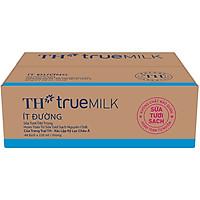 Thùng Sữa Tươi Tiệt Trùng Ít Đường TH True Milk (220ml x 48 Bịch)