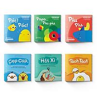 Sách Ehon Nhật Bản - Combo 6 cuốn: Ấn Tượng Của Piu Piu + Thật Bất Ngờ - Dành cho trẻ từ 0 - 2 tuổi