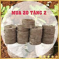 Combo 20 Viên Nén Xơ Dừa Ươm Hạt Giống