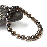 Vòng tay phong thủy đá Thạch Anh Khói 8 ly