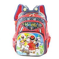 Balo học sinh cấp 1, bé trai, HAMI B1H2151 - hàng chính hãng, hàng Việt Nam chất lượng cao (xanh đen phối đỏ, hình siêu nhân, họa tiết ngẫu nhiên)
