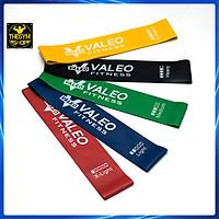 Bộ 5 dây mini Band, Dây cao su kháng lực miniband Valeo tập chân mông