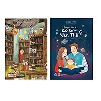 Sách Combo Tiệm Sách Cơn Mưa,Trong Sách Có Gì Mà Vui Thế nơi các cuốn sách được viết bằng mưa với nội dung là những ước mơ, câu chuyện bị lãng quên của con người lấy từ rừng Hoppori