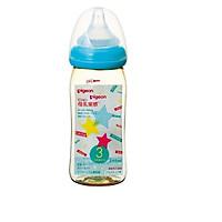 Bình sữa PPSU Plus 240ml Ngôi Sao Pigeon