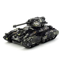 Mô hình thép 3D tự ráp xe tank Halo màu