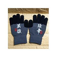 Găng tay len cảm ứng điện thoại - Tặng vòng tay tùy hưu may mắn