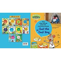 Truyện tranh ngụ ngôn dành cho thiếu nhi ( Song ngữ Anh- việt ) Chuột nhà và chuột đồng