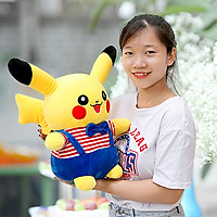 Gấu bông Pikachu cao cấp size 55cm