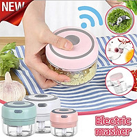 Food Processor Electric Mini Garlic Chopper Food Grinder Crush for Garlic Vegetable Chopper Meat