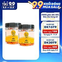 COMBO SIÊU TIẾT KIỆM - 2 Hũ Mơ Vàng Sấy Dẻo DK Harvest nhập khẩu chính hãng - 250g