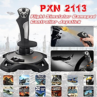 Pc/desktop Pxn-2113 Flight Simulator Gamepad Controller Joystick