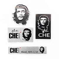 Set 4 sticker metal kim loại - Che Guevara
