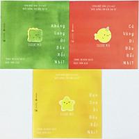 Combo Ehon nhật bản Đi đâu thế - nuôi dưỡng tâm hồn (trọn bộ 3 tập) + kèm 1 tẩy như hình ngẫu nhiên