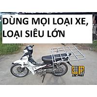 Baga giá chở hàng xe máy đa năng loại siêu lớn r80.d80cm dùng cho xe Ga & xe Số