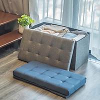 [HÀNG VN] Ghế Dài Sofa kiêm hộp đựng đồ [2 in 1] chất vải oxford 600D cao cấp size lớn XL [68x36xcao40cm]