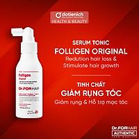 Serum dưỡng tóc giảm rụng tóc Dr.FORHAIR tinh chất dưỡng tóc khỏe Dr For Hair Tonic 120ml