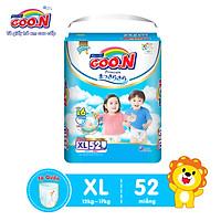 Tã quần Goon Premium cao cấp  gói siêu đại XL52 (12kg ~ 17kg) 52 miếng