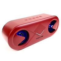 Loa Bluetooth GUTEK S6 V5.0 Hiệu Ứng Led Nháy Theo Nhạc, Âm Thanh Sắc Nét, Sống Động Kiểu Dáng Nhỏ Gọn, Nghe Nhạc Trầm Ấm, Hỗ Trợ USB, Thẻ nhớ, Cổng 3.5mm, Nhiều Màu Sắc - Hàng chính hãng