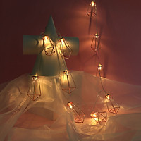 Tailored Christmas String Lights Wedding Xmas Party Decor Outdoor Indoor Lamp 1.5M 10 LED