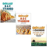 Bộ 3 Cuốn Giới luật bậc Tỳ - Kheo + Giới Luật Bậc Tỳ - Kheo Ni + Giới Luật Và Oai Nghi Của Bậc Sa – Di Và Sa – Di Ni
