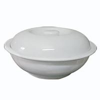 Bát đĩa -  Liễn cơm 12 trắng dày ngọc thạch -  Bát đĩa dày -  Sử dụng nhà hàng