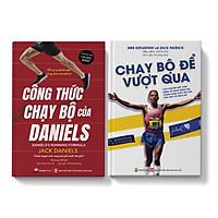 Sách - Combo Chạy Đua Marathon Công Thức Chạy Bộ Của Daniels - Chạy Bộ Để Vượt Qua - Pandabooks