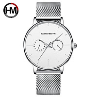 Đồng hồ nam Hannah Martin chính hãng - model HM-150WF - chống nước tốt 30M