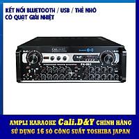 Amply Bluetooth USB 16 sò đại Toshiba - biến áp đồng Cali.D&Y PA-083 - Hàng chính hãng