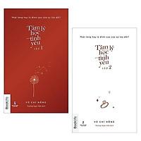 Sách - Combo 2 cuốn Tâm lý học tình yêu 1 và tâm lý học tình yêu 2