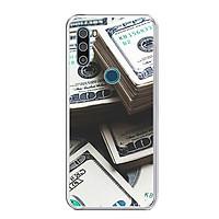 Ốp lưng dẻo cho điện thoại VSMART ACTIVE 3 - 0493 Dollar01 - Hàng Chính Hãng