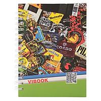 Sổ Lò Xo Vibook Impressive LX15-1 100 Trang (10.5 x 14.8 cm)-Mẫu Ngẫu Nhiên